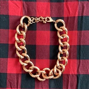 BAUBLEBAR Rose Gold chain necklace